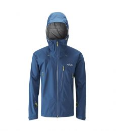Rab Firewall Jacket Men waterproof pertex shield + windproof breathable pit zips climbing mountaineering hiking walking