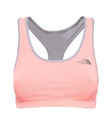 Bounce B Gone Bra Womens Neon Peach / TNF Light Grey Heather