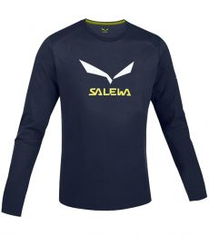 Salewa SolidLogo 2 CO L/S Tee Men's cotton climbing bouldering tee