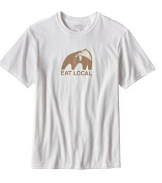 Patagonia Eat Local Upstream Cotton T-Shirt sustainable environmental eco-friendly