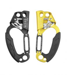 Grivel Rock Safety A&D ascender descender left right belay plate rappel device one handed