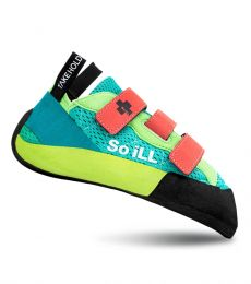 So iLL Runner LV Climbing Shoe dark matter rubber comfortable downturned bouldering indoor climbing rock