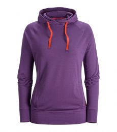 Down Wall Hoody Womens Dusk Front