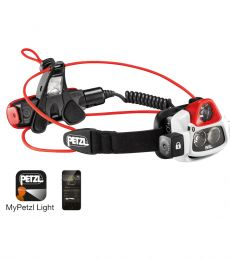 Petzl Nao+ Headlamp bluetooth reactive powerful watrproof trail running mountaineering climbing