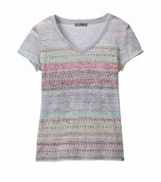 prAna Portfolio V-Neck Top S/S